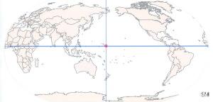 World centered Marshall Islands SM